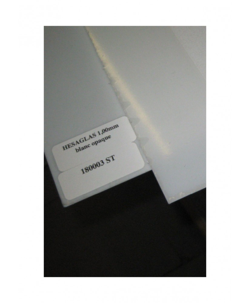 plaque en acrylate GS incolore translucide - 1,00 x 740 x 1000mm ( 104 191 )