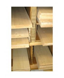 planche en balsa - 0,60 x 100 x 1000mm  ( 201 001 )