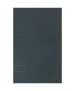 plaque en carton perforé gris foncé - 300gr/m2 - 230 x 320mm ( 210 503 )