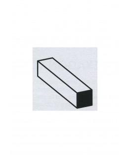 barre en aluminium de section carrée - 3,00 x 3,00 x 1000mm ( 301053 )
