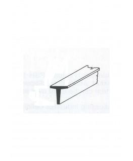 profilé en laiton de section en T  - 5,00/0,50mm - 1000,00mm ( 303043 )