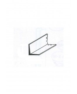profilé en laiton de section en L  - 1,00/0,20mm - 1000,00mm ( 303061 )
