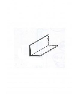 profilé en laiton de section en L  - 6,00/0,60mm - 1000,00mm ( 303069 )