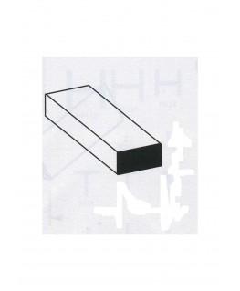 barre en laiton de section rectangulaire - 1,00/2,00 - 1000mm ( 303139 )