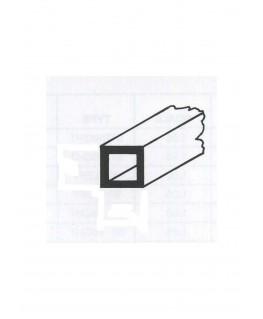 tube en laiton de section carrée - 2,00/0,25 - 1000mm ( 303091 )