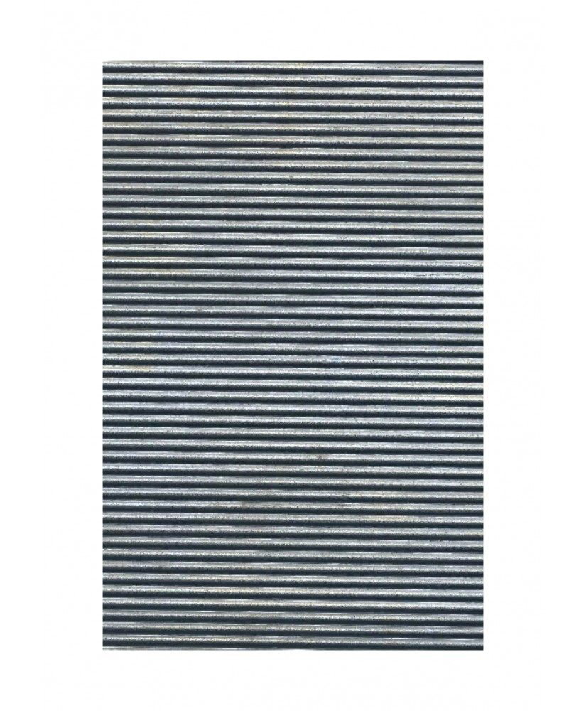 feuille en plomb ondulé - w2,50 - 0,50 x 175 x 240mm ( 305509 )