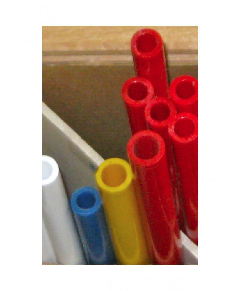 tube en butyrate de couleur P-()-003 de section ronde - diamètre 2,40mm ( 401417 )