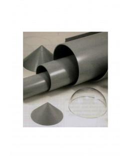 tube en ABS gris VT-0040 de section ronde - 31,80 x 910,00mm ( 402928 )