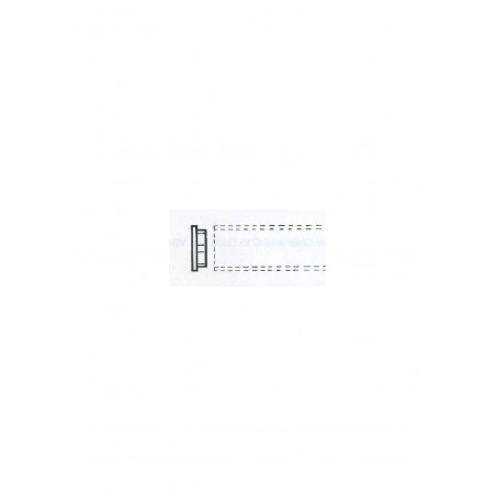 bouchon plat en ABS gris VHC-0020 pour tube VT-0020 - 15,90mm ( 402762 )