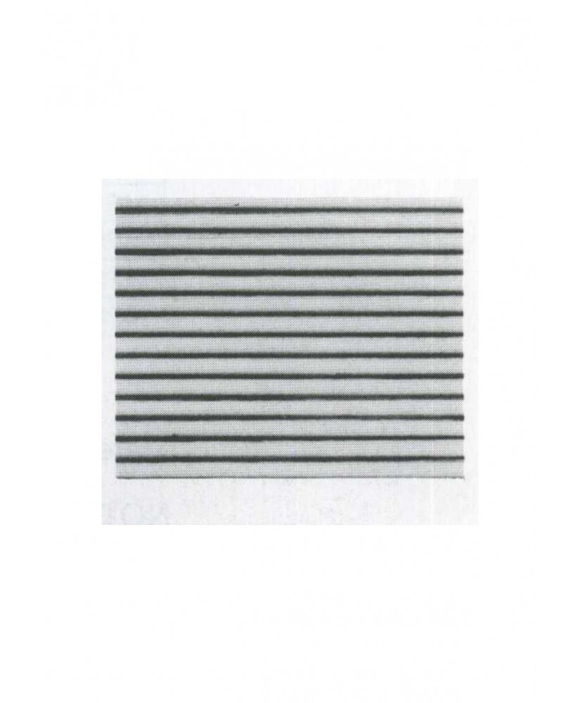 pan de toiture ondulée en polystyrène thermoformé blanc - 1,00mm - 0,50 x 175 x 300mm - échelle : 1/200 ( 602079 )