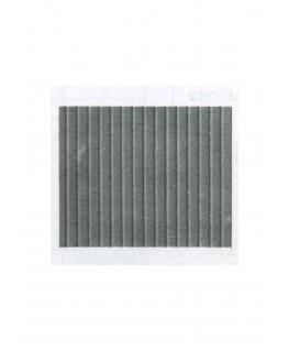 aire de plancher en polystyrène gaufré - couleur(s) : gris - 0,50 x 175 x 300mm - échelle : 1/100 ( 603002 )