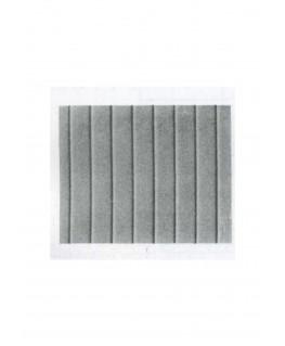 aire de plancher en polystyrène gaufré - couleur(s) : gris - 0,50 x 175 x 300mm - échelle : 1/50 ( 603003 )