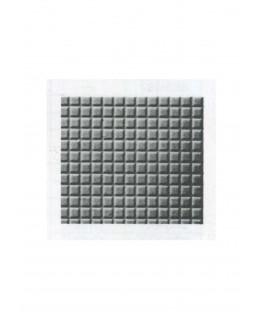 plaque de sol carrelé en polystyrène gaufré - couleur(s) : gris - 0,50 x 175 x 300mm - échelle : 1/50 ( 603013 )