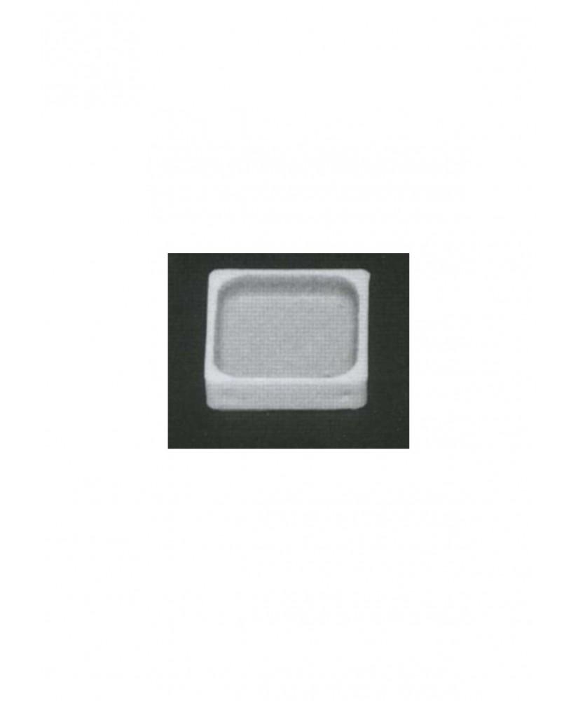 tub de douche en polystyrène blanc moulé - échelle : 1/50 ( 605126 )