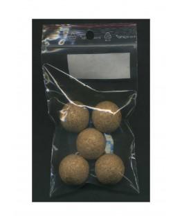 5 sphères en liège naturel - 25,00mm ( 606117 )