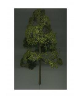 arbre feuillu en métal photodécoupé et floqué vert clair -130,00mm ( 606758 )