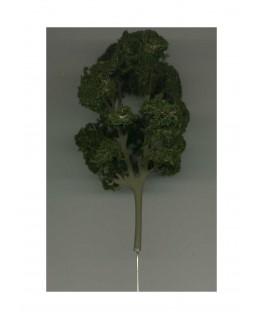 arbre feuillu en métal photodécoupé et floqué vert foncé - 110,00mm ( 606770 )