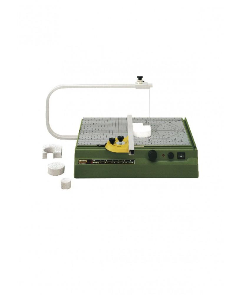 machine à fil chauffant Thermocut PROXXON pour la découpe de la mousse polystyrène ( 802000 )