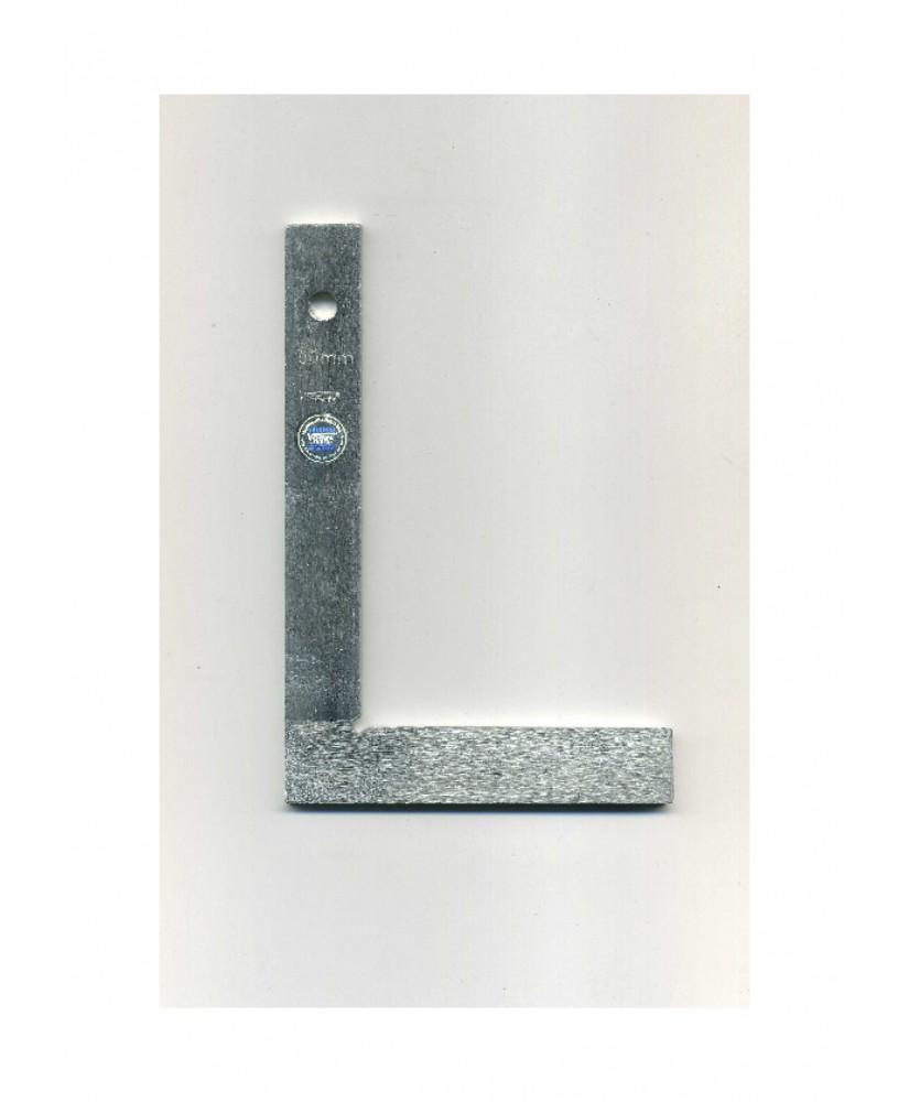 équerre plate en acier - 90° - 100,00 x 150,00mm ( 801015 )