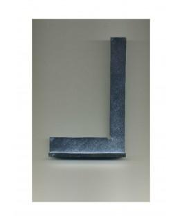 équerre à talon en acier - 90° - 100,00 x 150,00mm ( 801017 )