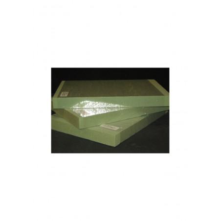 plaque de mousse polyuréthane verte de densité 80Kg/M3 - 30,00 x 230 x 320mm ( 901511 )