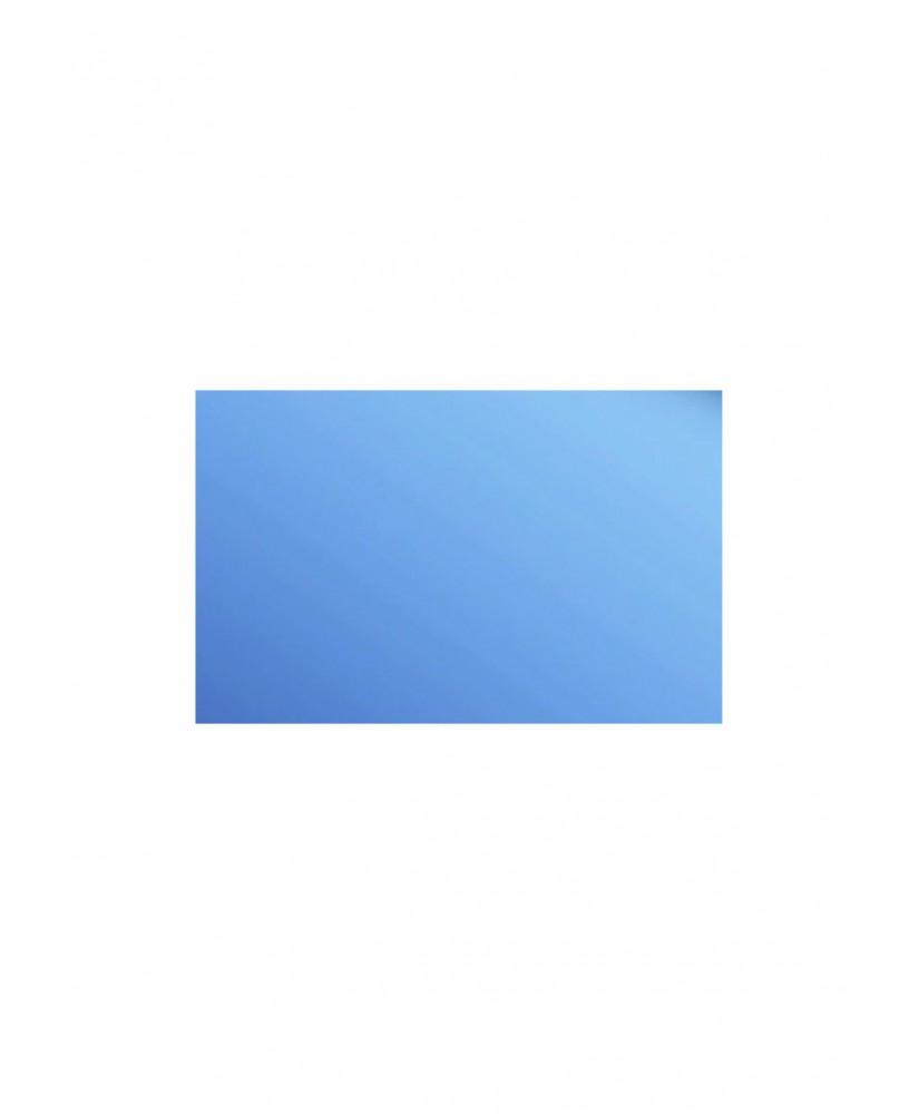 plaque en polystyrène miroir bleu - 1,00 x 500 x 1000mm ( 101 053 )