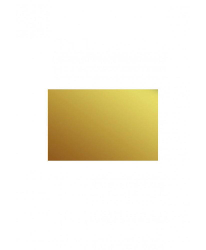 plaque en polystyrène miroir or  - 1,00 x 500 x 1000mm ( 101 052 )