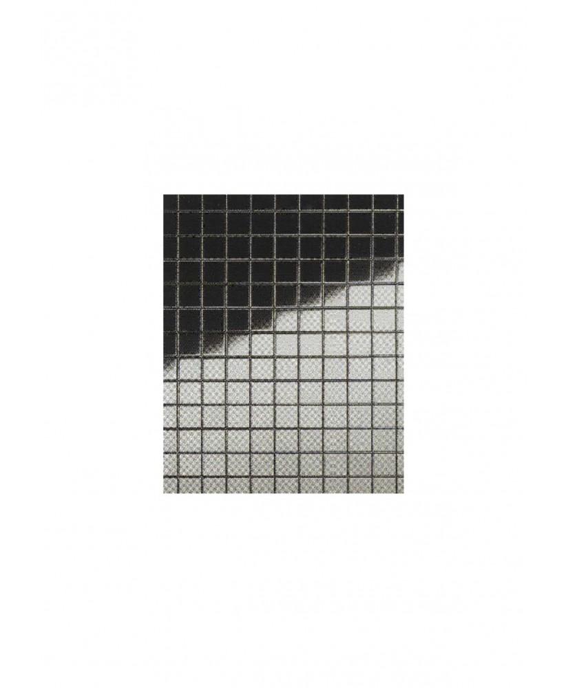 plaque en polystyrène miroir argent carrés ( 101 055 ) de 5,00mm - 1,00 x 490 x 950mm