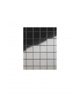plaque en polystyrène miroir argent carrés de 10,00mm - 1,00 x 490 x 950mm ( 101 056 )