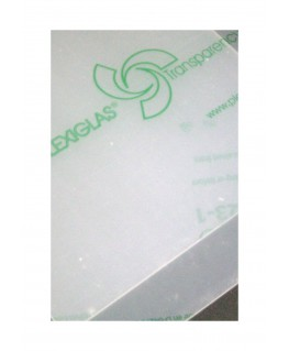 plaque en Plexiglas GS incolore transparent - 5,00 x 500 x 1000mm ( 103 051 )