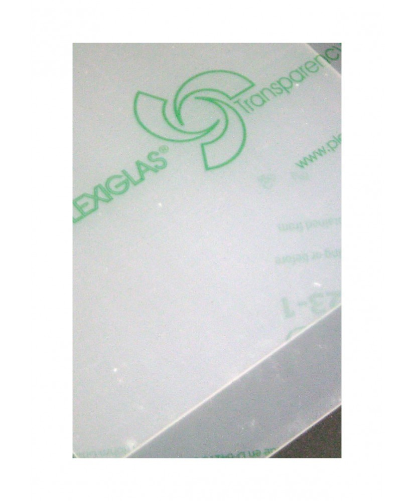 plaque en Plexiglas GS incolore transparent - 5,00 x 500 x 1000mm ( 103 051 )