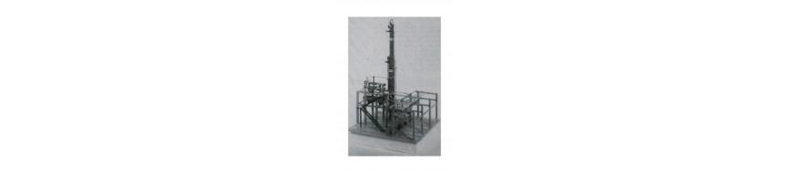 Eléments de structure pour maquettes industrielles EMA