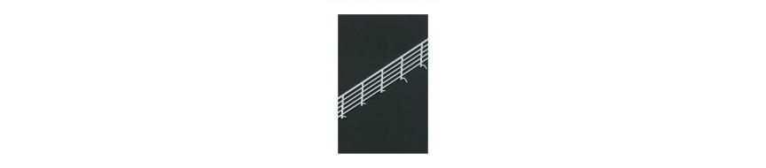 Escaliers, rampes et gardes-corps pour maquettes